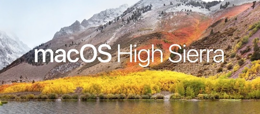 Apple Releases macOS High Sierra Developer Beta 2 Update 1