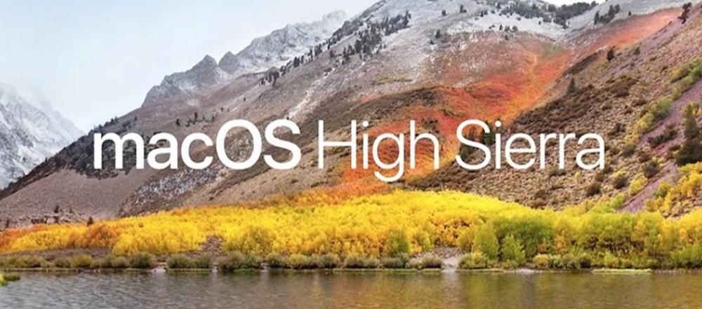 Apple Releases macOS High Sierra Developer Beta 2 Update 1