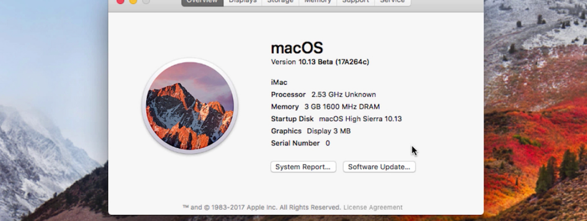 How To Download & Install macOS 10.13 High Sierra Public Beta 1