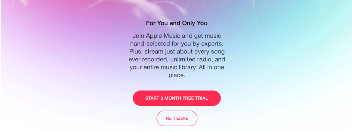 Apple Music Free Trial - Signup For Getting A Taste Of Music App From Apple