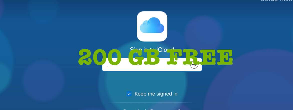 How To Avail 200 GB iCloud Storage Free