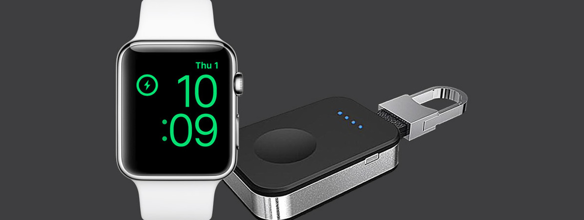 Try This Cool Keychain With In-Built Apple Watch Charger & Power Bank