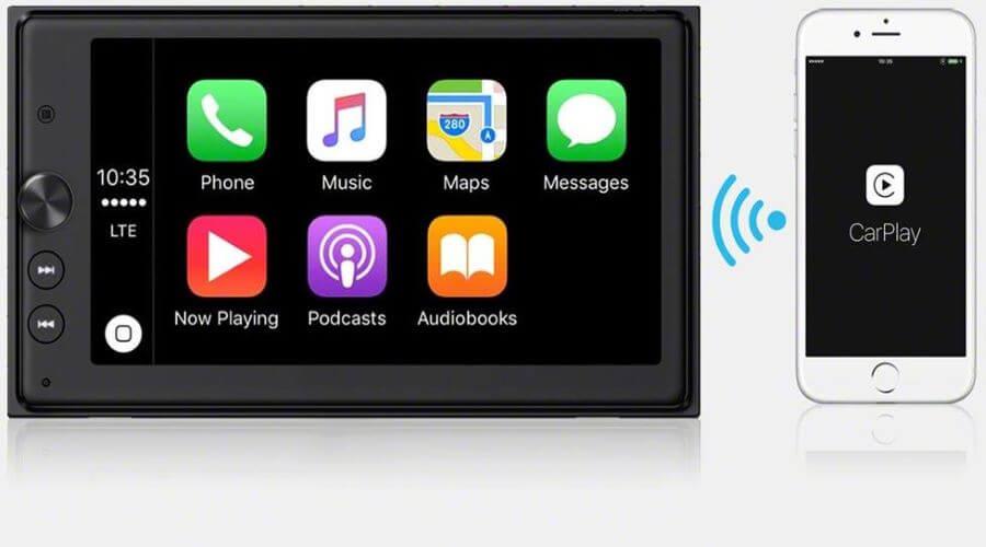 Wireless CarPlay Features