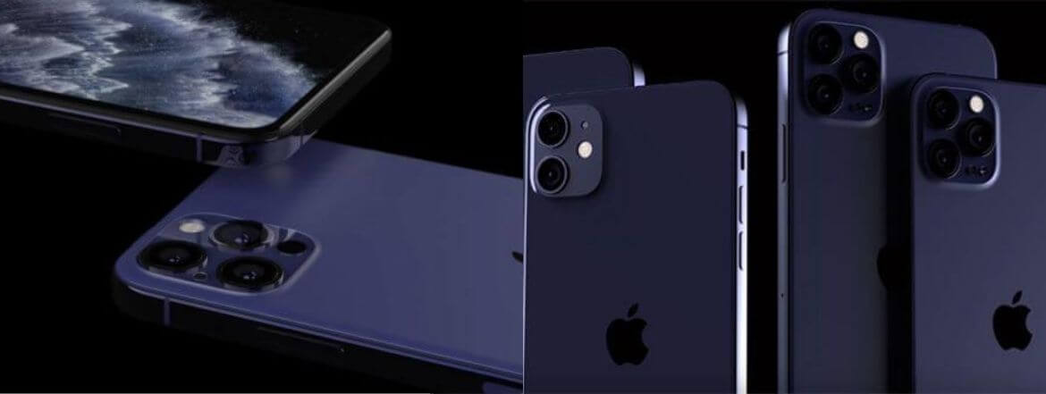 Dark Blue/Navy iPhone 12 Rumored In New Report Again