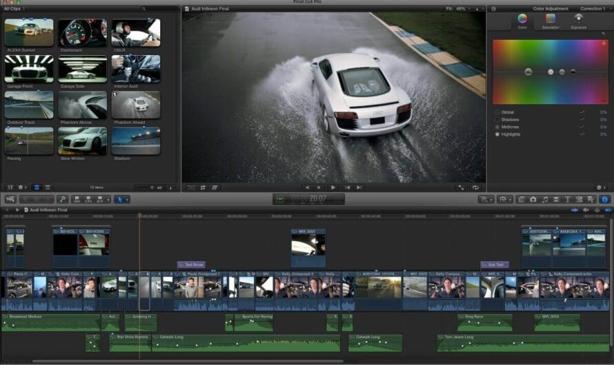 Apple's Final Cut Pro Softwrae For Video Editing Expected To Shift To A Subscription-Based Model