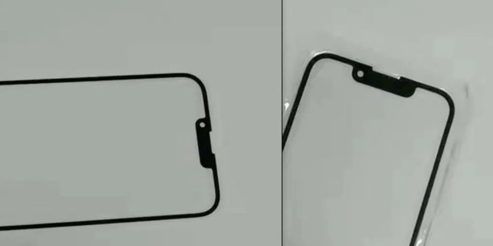 IPHONE 13 AND IPHONE 13 MINI NOTCH, ABOUT 30% SMALLER IN WIDTH